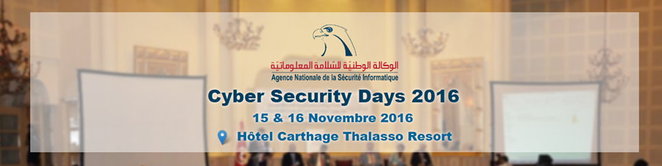 Cyber Security Days 2016